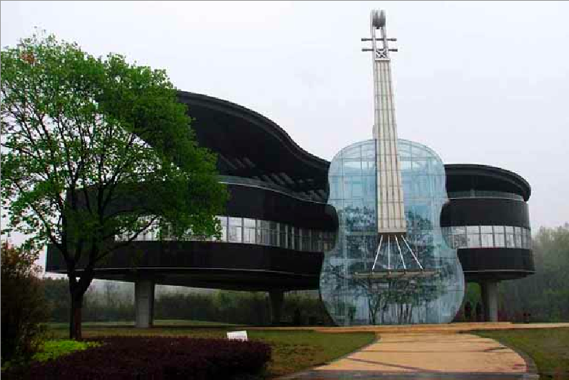 Piano House That is Literally Shaped as a Piano