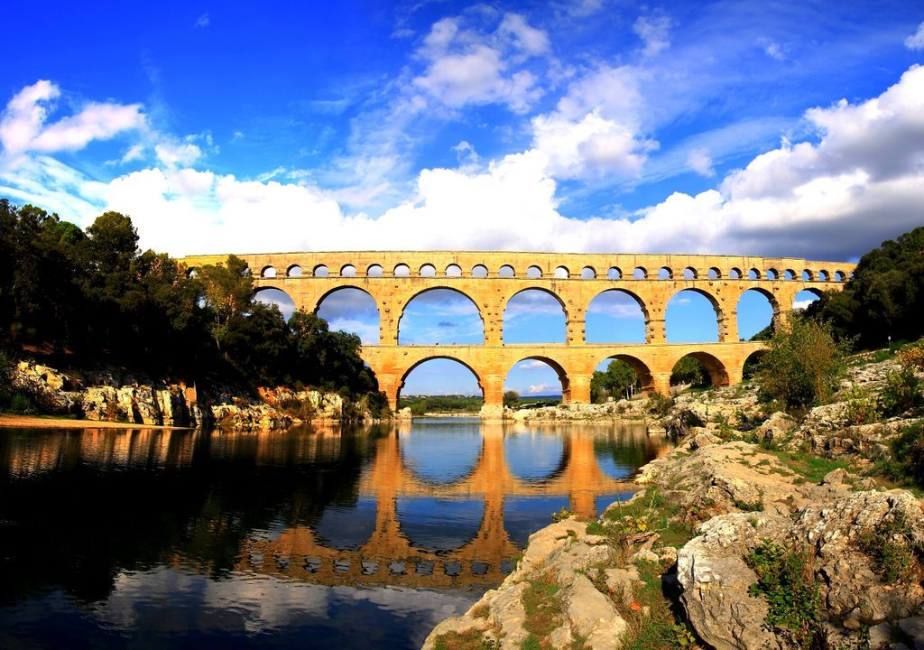 Pont Du Gard Aqueduct Ancient Rome S Engineering Ingenuity