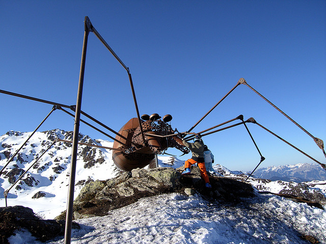 Kristallhutte: Austrian Alps Ski Resort Invaded by Giant Insects