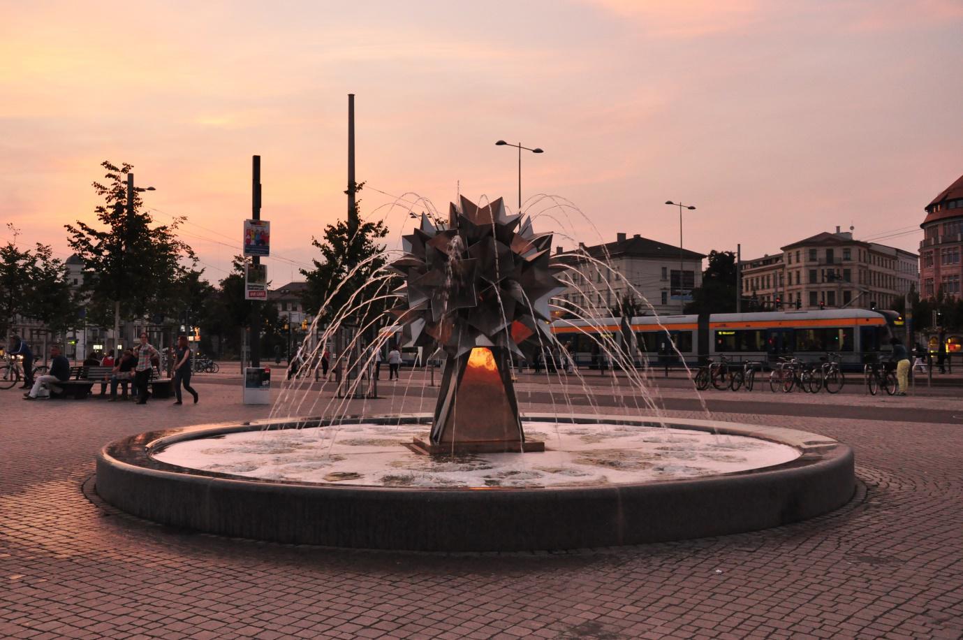Leipzig Fountain