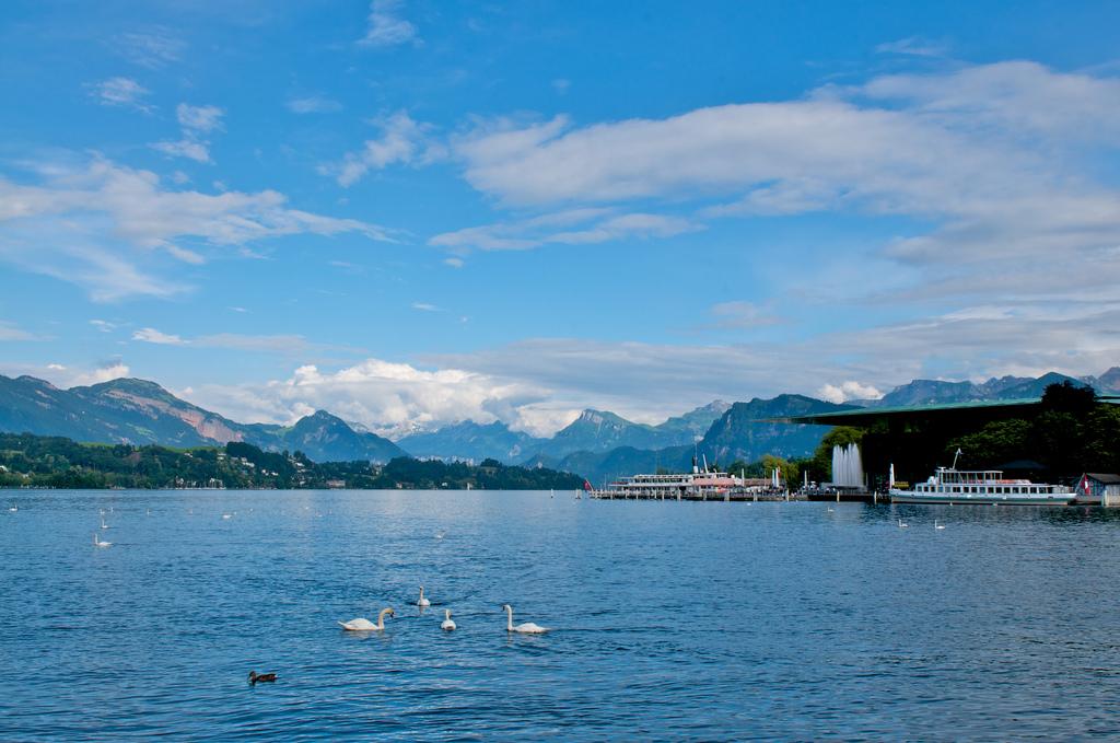 Switzerland lucerne lake