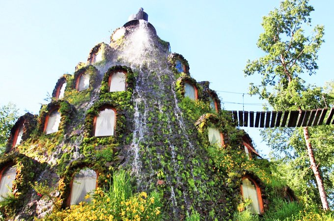 Staying at the Eco-Friendly Magic Mountain Hotel in Chile