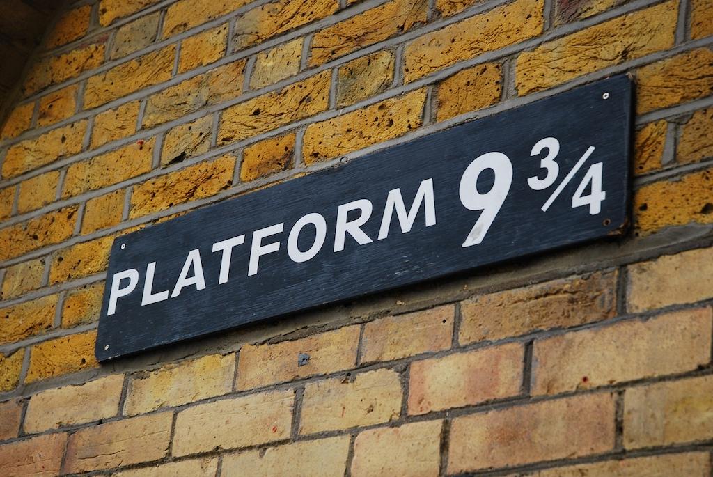 platform 9 and 3/4