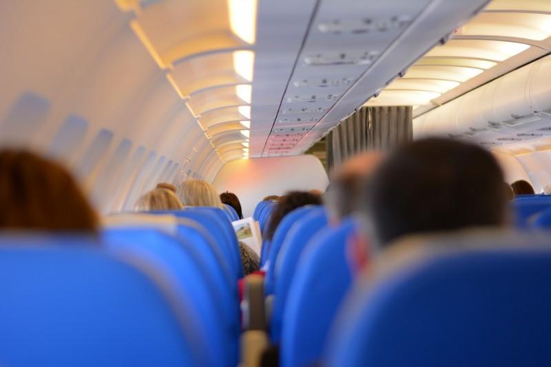 on board a flight