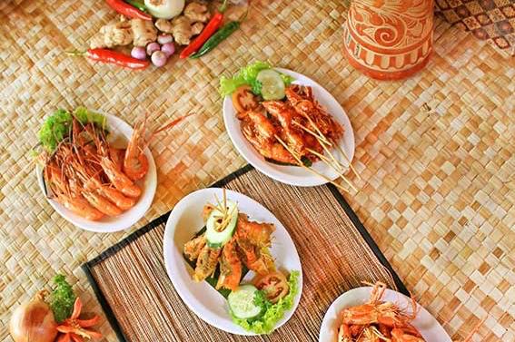 seafood in bali