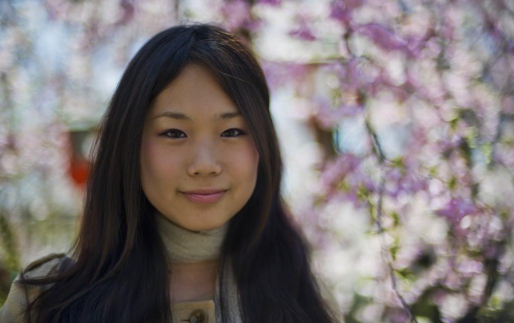 beautiful woman in Japan