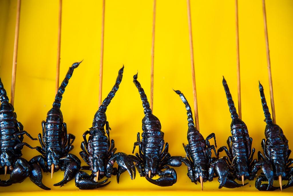 Scorpion Snack in Thailand