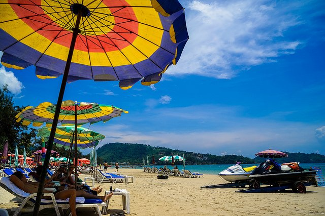 patong beach in phuket