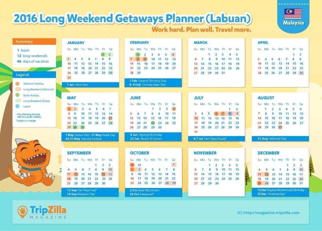 Calendar MY Update - Labuan