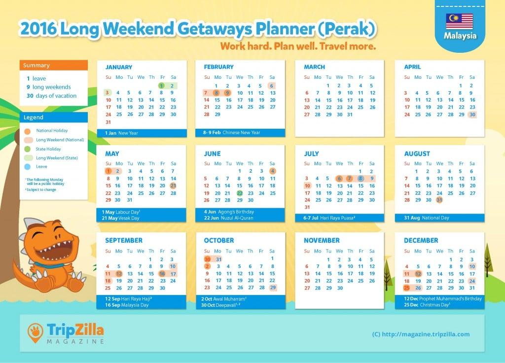 Calendar MY Update - Perak