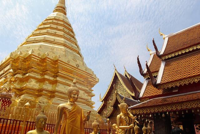 Wat Phrathat @ Doi Suthep