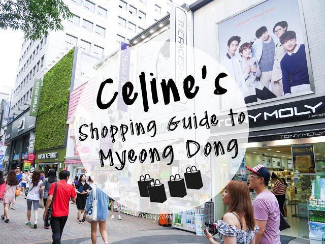 myeongdong shopping tips