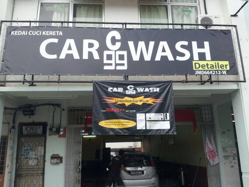 car wash johor