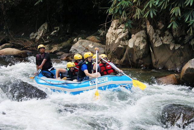 whitewater rafting in ipoh