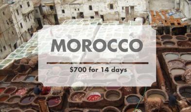 morocco budget