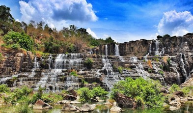 waterfalls in dalat