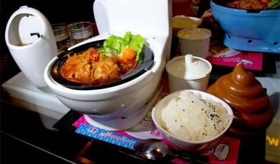 world first toilet themed restaurant taiwan