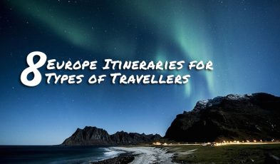 europe itineraries