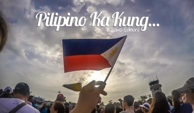 Filipino traveller signs