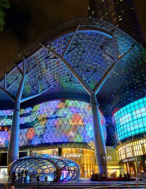 hotels singapore near shopping malls