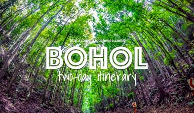 bohol 2 days itinerary