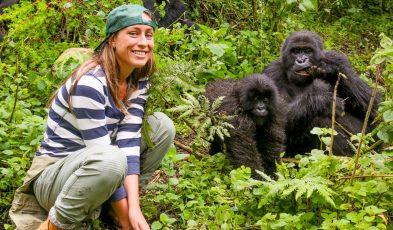 rwanda trekking with wild gorillas