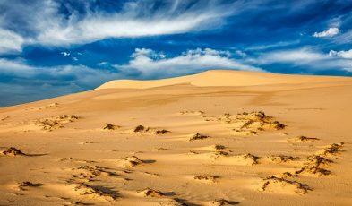 desert in asia