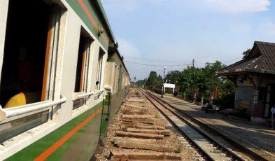 Thailand train journey