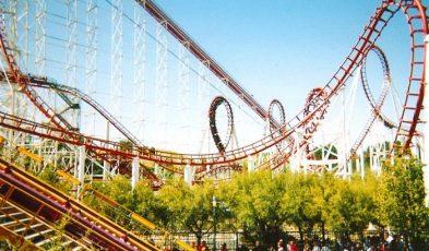 theme parks US west coast