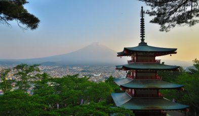 where to view mt fuji