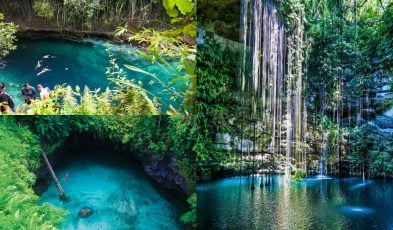 Magical swimming holes