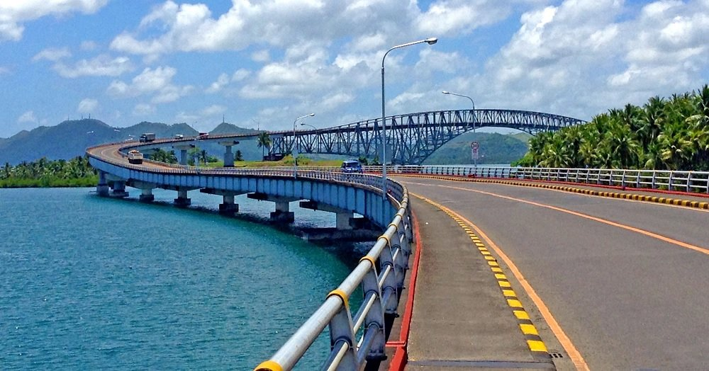 San Juanico Bridge Walking Across The Longest Bridge In
