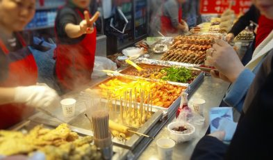 korean street foods