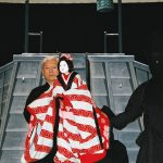 Bunraku performance
