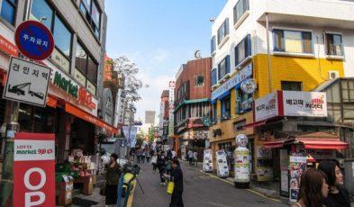 mua sắm ở Hàn Quốc