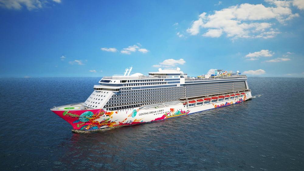 Genting Dream Dream Cruises Inaugural Cruise Ship To Sail This November