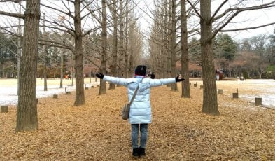 winter holiday korea