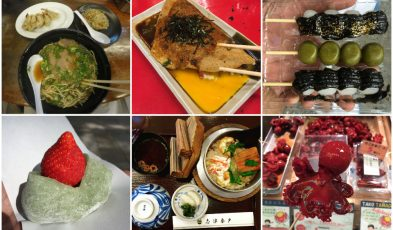 food trip kansai region