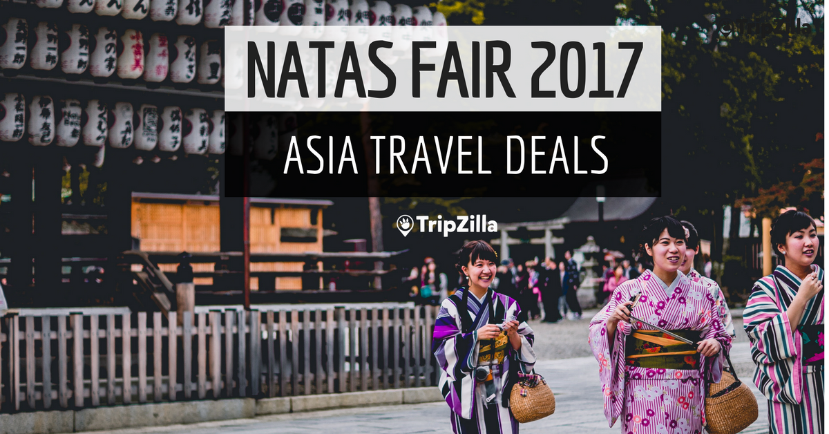 Asia travel crazy deals