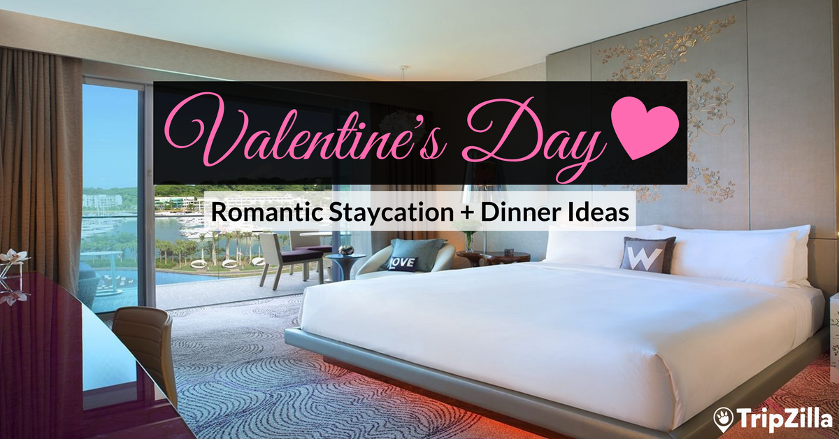 Valentines Day 11 Romantic Staycation Plus Dinner Ideas
