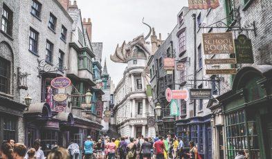 harry potter theme park canada