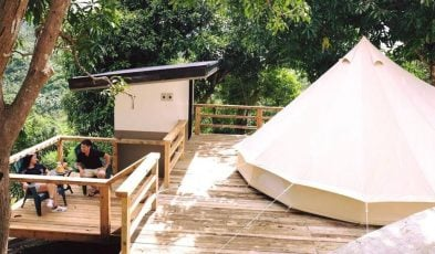 glamping spots in the philippines