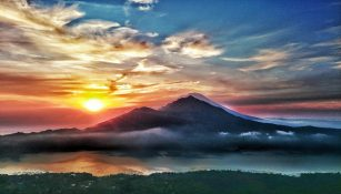 indonesia mountains views