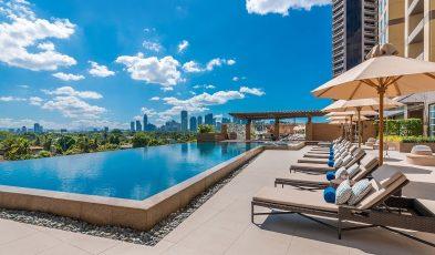 manila hotels rooftop pools