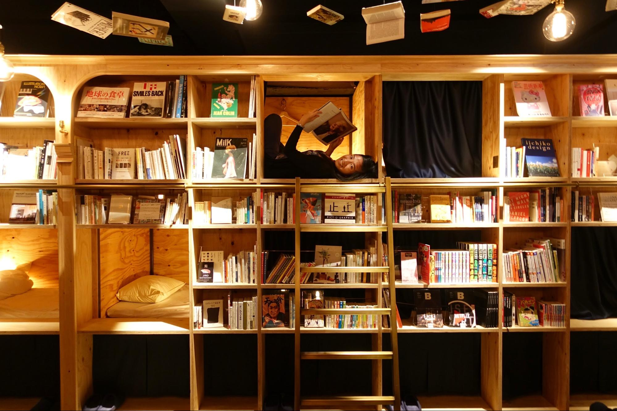 Book & Bed Tokyo: The Hostel that Every Book Lover Dreams About