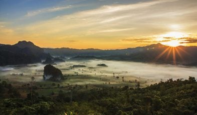 thailand mountains