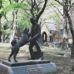 hachiko professor ueno statue